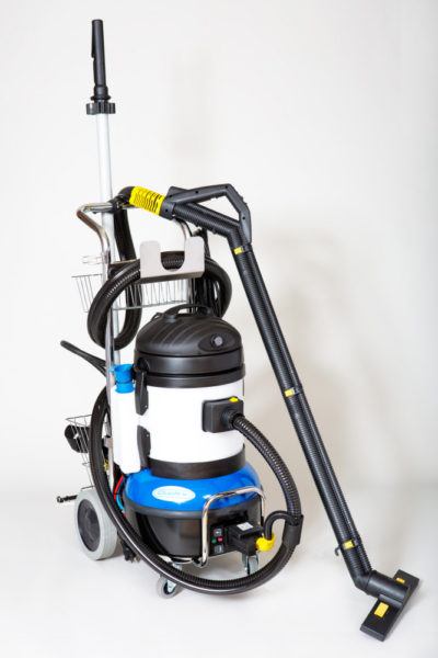 Jet Vac Compact Vacuumated Steam Cleaner