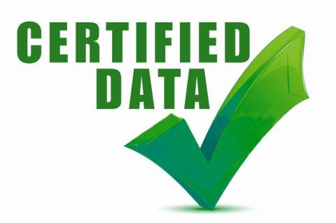 Certified Data